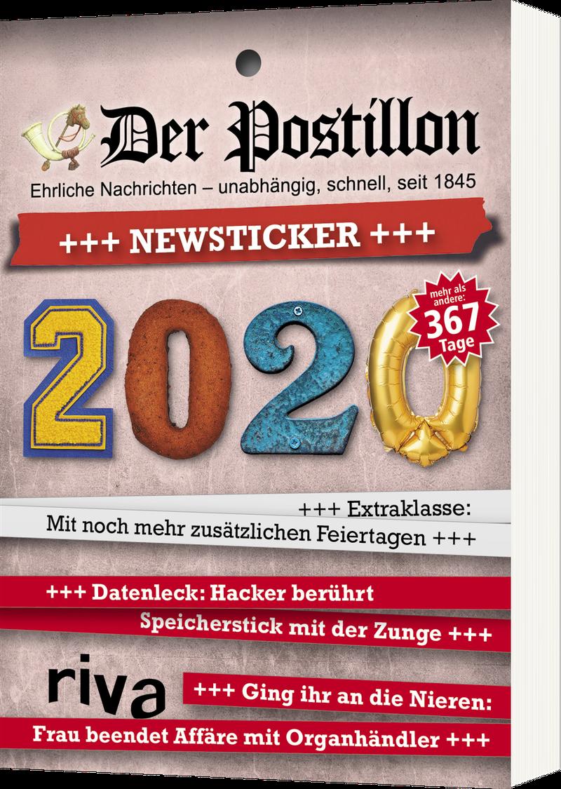 Stefan Sichermann ´Der Postillon +++ Newsticker +++ 2020 - Tagesabreißkalender´ bestellen