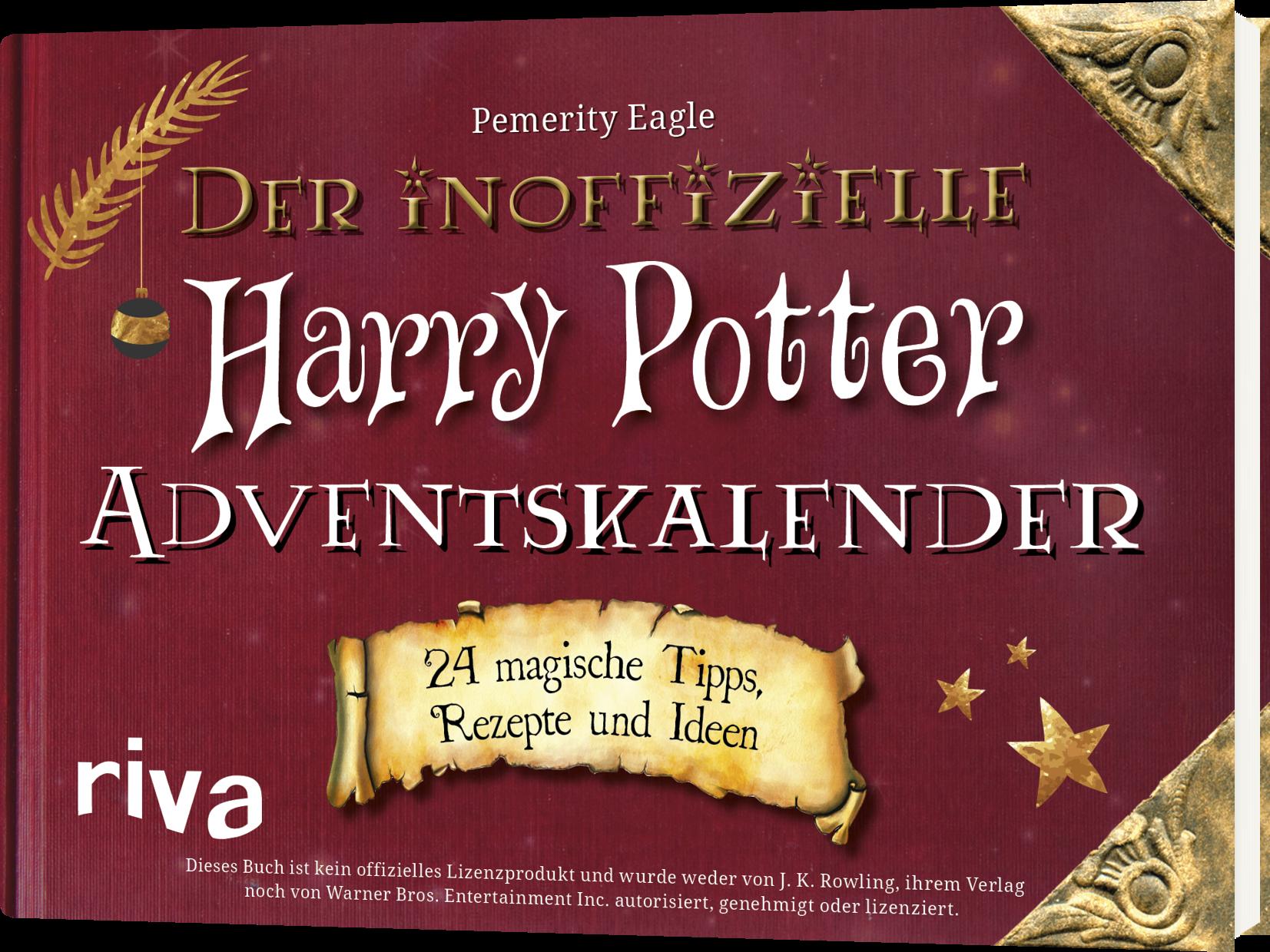 Weihnachtskalender Harry Potter.Der Inoffizielle Harry Potter Adventskalender 24 Magische Tipps