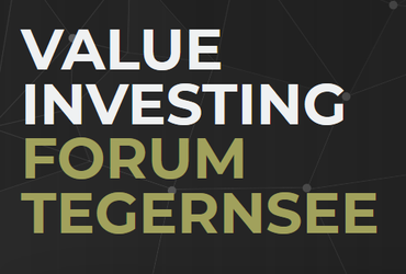VALUE INVESTING Forum am Tegernsee