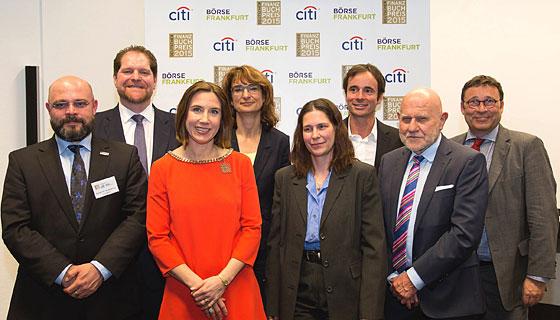Die Jury des Deutschen Finanzbuch Preises 2015