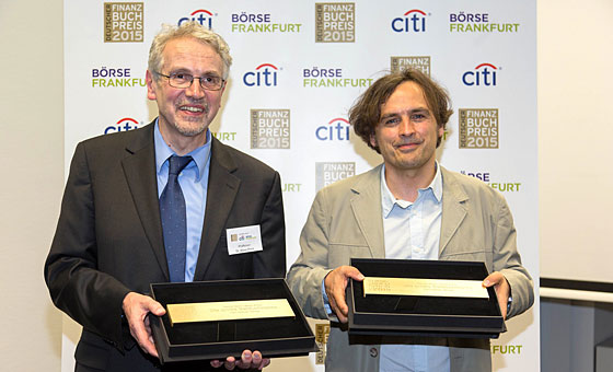 Die Preisträger des Deutschen Finanzbuch Preises 2015