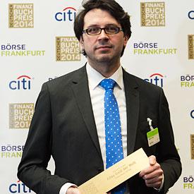 Daniel Eckert, Preisträger Finanzbuchpreis 2015